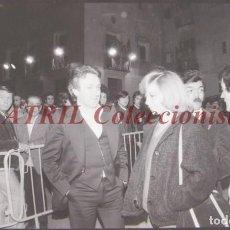 Fotografía antigua: VALENCIA - FALLAS ISABEL TENAILLE - CLICHE NEGATIVO DE 35 MM EN CELULOIDE - AÑOS 1978-1979. Lote 219155527