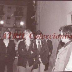 Fotografía antigua: VALENCIA - FALLAS ISABEL TENAILLE - CLICHE NEGATIVO DE 35 MM EN CELULOIDE - AÑOS 1978-1979. Lote 219155575