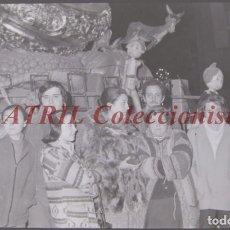 Fotografía antigua: VALENCIA - FALLAS - CLICHE NEGATIVO DE 35 MM EN CELULOIDE - AÑOS 1978-1979. Lote 219155848