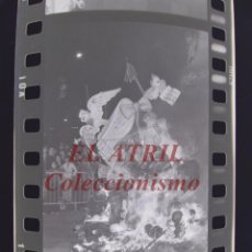 Fotografía antigua: VALENCIA - FALLAS - 6 CLICHES NEGATIVOS DE 35 MM EN CELULOIDE - AÑOS 1978-1979. Lote 219159867
