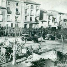 Fotografía antigua: SUBLEVACION DE JACA. DICIEMBRE 1930. AYERBE. CAPITANES GALÁN Y GARCÍA HERNÁNDEZ. FOTO DE AGENCIA.. Lote 219234602