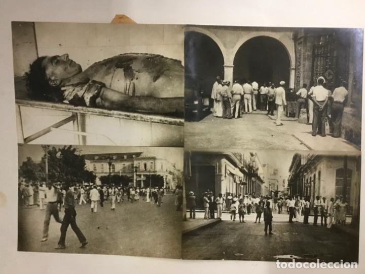 Fotografía antigua: 22 FOTOGRAFIAS CUBA. DERROCAMIENTO MACHADO. CESPEDES, RAMON GRAU... DESTROZOS SAQUEOS - Foto 8 - 219354651