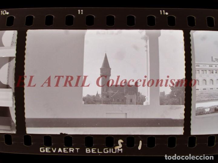 VALENCIA - 13 CLICHES NEGATIVOS DE 35 MM EN CELULOIDE - AÑOS 1950-1960, VER FOTOS ADICIONALES (Fotografía Antigua - Fotomecánica)
