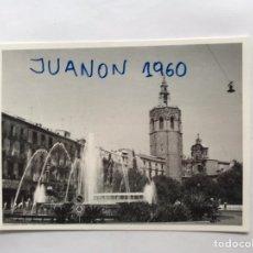 Photographie ancienne: VALENCIA. FOTOGRAFÍA ORÍGINAL PLAZA DE LA REINA. SEPTIEMBRE DE 1967, FOTO DERREY... Lote 220067733