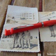Fotografía antigua: FOTO FOTOGRAFÍA LOTE DE 3 BASE NAVAL DE ROTA 1958 CAMIÓN PEGASO MILITARES 83 X 58 MM. Lote 220851402