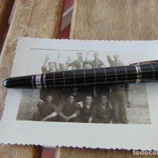 Fotografía antigua: FOTO FOTOGRAFÍA MAYO DE 1936 PATIO DE LA CARCEL DE OLVERA FALANGISTAS ?? GUERRA CIVIL?? 105 X 76 MM. Lote 220852487