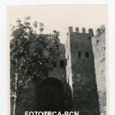 Fotografía antigua: FOTO ORIGINAL SEGOVIA MURALLA PUERTA DE SAN ANDRES AÑO 1946. Lote 220945236