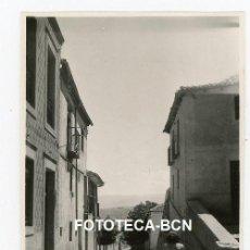 Fotografía antigua: FOTO ORIGINAL SEGOVIA CALLE DE LA POBLACION AÑO 1946. Lote 220945620