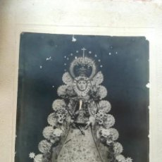 Fotografía antigua: ANTIGUA Y ORIGINAL FOTO DE LA VIRGEN DEL ROCIO. Lote 220979550