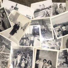 Fotografía antigua: LOTE 50 FOTOGRAFÍAS FAMILIA AÑOS 50 - FOTOS BLANCO Y NEGRO ALBUM MUJER NIÑAS ESPAÑA ORIGINAL. Lote 221130970