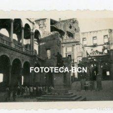 Fotografía antigua: FOTO ORIGINAL TOLEDO INTERIOR DEL ALCAZAR AÑO 1951. Lote 221262287