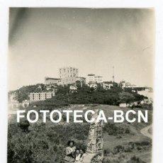 Fotografía antigua: FOTO ORIGINAL VALLVIDRERA VISTA DEL TIBIDABO BARCELONA AÑO 1947. Lote 221265412