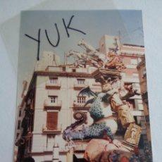Fotografía antigua: FOTO FOTOGRAFIA DE LA FALLA DE LA PLAZA DE LA MERCED DE 1988 - FALLAS VALENCIA. Lote 221341256