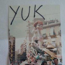 Fotografía antigua: FOTO FOTOGRAFIA DE LA FALLA DE CONVENTO JERUSALEN DE 1988 - FALLAS VALENCIA. Lote 221343943