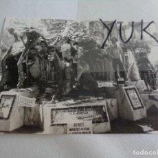 Fotografía antigua: FOTO FOTOGRAFIA DEL NINOT INDULTAT FALLA DE ESPARTERO -G.V RAMON Y CAJAL DE 1981 -FALLAS VALENCIA. Lote 221355296