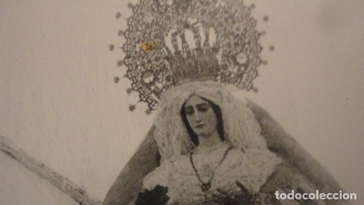 Fotografía antigua: ANTIGUA FOTOGRAFIA DE VIRGEN EN PROCESION SIN IDENTIFICAR.AÑOS 60? - Foto 3 - 221512126
