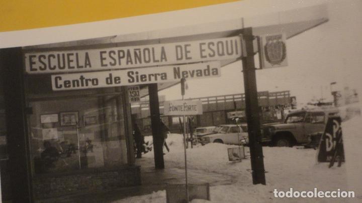 Fotografía antigua: ANTIGUA FOTOGRAFIA.ESCUELA ESPAÑOLA DE ESQUI.CENTRO SIERRA NEVADA.GRANADA AÑOS 60? - Foto 2 - 221512953