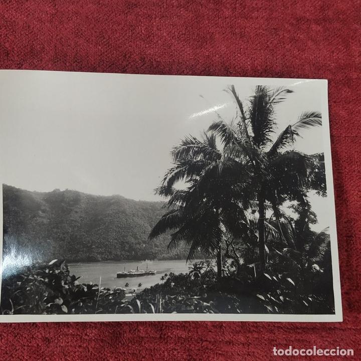 Fotografía antigua: 9 FOTOGRAFÍAS. BARCOS Y MILITARES. PROBABLEMENTE TOMADAS EN INDONESIA. CIRCA 1910 - Foto 4 - 221661718
