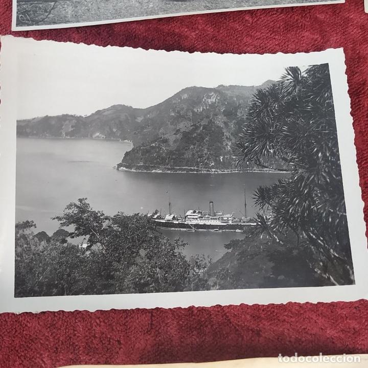 Fotografía antigua: 9 FOTOGRAFÍAS. BARCOS Y MILITARES. PROBABLEMENTE TOMADAS EN INDONESIA. CIRCA 1910 - Foto 5 - 221661718