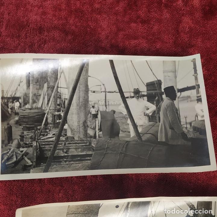 Fotografía antigua: 9 FOTOGRAFÍAS. BARCOS Y MILITARES. PROBABLEMENTE TOMADAS EN INDONESIA. CIRCA 1910 - Foto 6 - 221661718