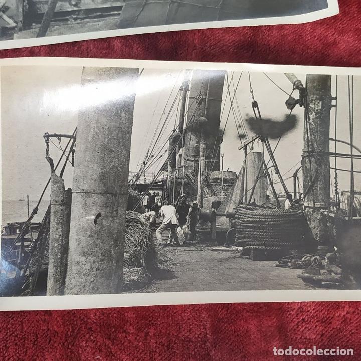 Fotografía antigua: 9 FOTOGRAFÍAS. BARCOS Y MILITARES. PROBABLEMENTE TOMADAS EN INDONESIA. CIRCA 1910 - Foto 8 - 221661718