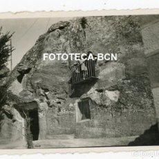 Fotografía antigua: FOTO ORIGINAL CASA CUEVA ESPAÑA AÑOS 20/30. Lote 221663087