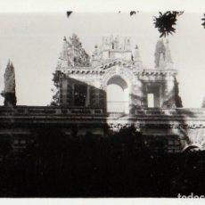Fotografía antigua: TRES FOTOGRAFÍAS. REAL ALCÁZAR DE SEVILLA. 1970.. Lote 221688303