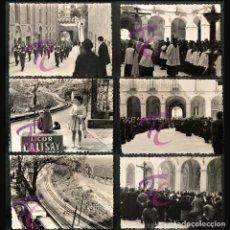 Fotografía antigua: LOTE 20 FOTOGRAFÍAS MONTSERRAT AÑO 1950 B/N 10X7CM VER TODAS EN FOTOGRAFIAS. Lote 221694105