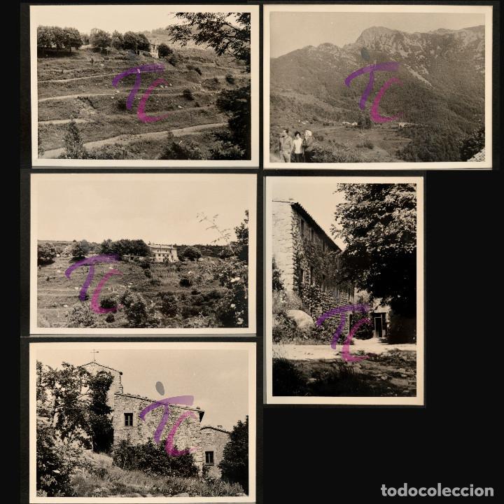 LOTE 5 FOTOGRAFÍAS SANT MARSAL MONTSENY AÑO 1962 B/N 10X7CM VER TODAS EN FOTOGRAFIAS (Fotografía Antigua - Fotomecánica)