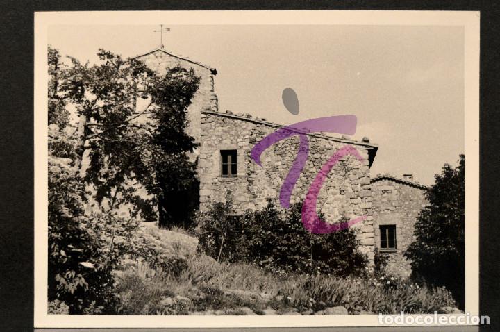 Fotografía antigua: LOTE 5 FOTOGRAFÍAS SANT MARSAL MONTSENY AÑO 1962 B/N 10X7CM VER TODAS EN FOTOGRAFIAS - Foto 2 - 221811490