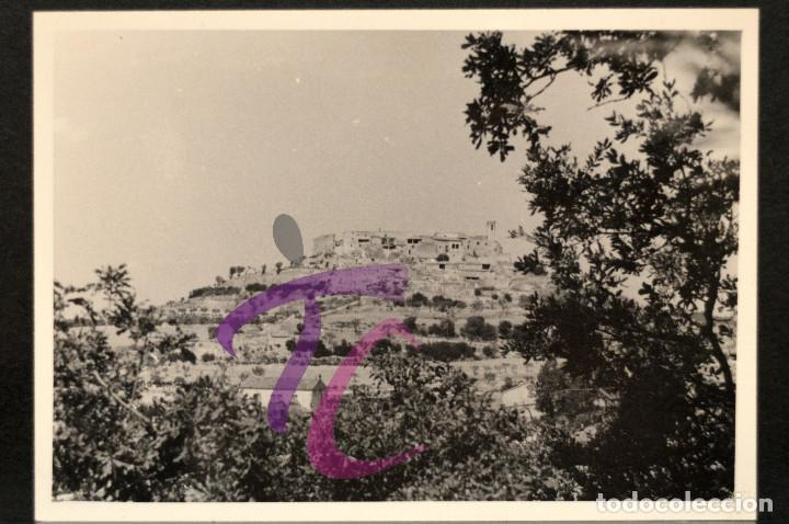 Fotografía antigua: FOTOGRAFÍA LLEIDA MONTFALCO MURELLAT AÑO 1962 B/N 10X7CM LERIDA - Foto 2 - 221815327