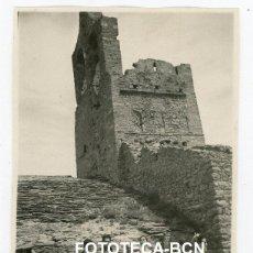 Fotografía antigua: FOTO ORIGINAL IGLESIA SANTA HELENA SANTA CREU DE RODES EXCURSIONISTAS AÑO 1948. Lote 222031183