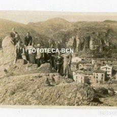 Fotografía antigua: LOTE 16 FOTOS ORIGINALES CASTELLAR DE N'HUG AÑOS 30. Lote 222032933