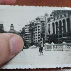 Fotografía antigua: VALENCIA HOTEL LONDRES FOTO ANTIGUA.. Lote 222070191