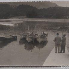 Fotografía antigua: NIEMBRO-BARRO. LLANES. PAISAJE DE LA ENSENADA. AÑOS 60S.. Lote 222075482