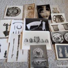 Fotografía antigua: CERÁMICA, CRISTAL Y VARIOS . ANTIGÜEDADES. Lote 222166382