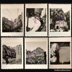 Fotografía antigua: LOTE 6 FOTOGRAFIAS MONTSERRAT AÑO 1944 B/N 6X5CM. Lote 222187997