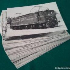 Fotografía antigua: RENFE FERROCARRIL LOCOMOTORA TREN FOTOGRAFÍA LOTE 120. Lote 222237431