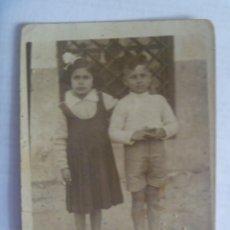 Fotografía antigua: MINUTERO DE FOTOGRAFO AMBULANTE DE NIÑOS . LA LINEA , 1934. Lote 222384467