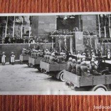Fotografía antigua: 1939-CELEBRACIÓN 1º DESFILE VICTORIA EN MADRID.GUERRA CIVIL ESPAÑA.FRANCO.FOTOGRAFÍA ORIGINAL GRANDE. Lote 222385958