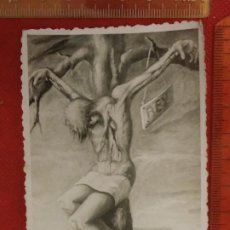 Fotografía antigua: FOTOGRAFÍA 1954 JESÚS JESUCRISTO CRUCIFICADO. Lote 222486730