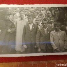 Fotografía antigua: FOTOGRAFÍA 1948 PEREGRINACIÓN DE SEMINARISTAS A SANTIAGO. Lote 222488277