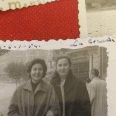Fotografía antigua: FOTOGRAFÍA EN LA CORUÑA 1954. Lote 222492316