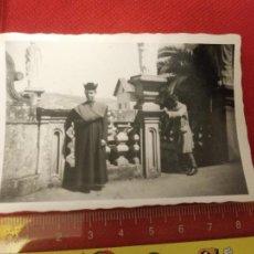 Fotografía antigua: FOTOGRAFÍA RELIGIOSO 1948. Lote 222492500