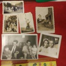 Fotografía antigua: LOTE DE 6 FOTOGRAFÍAS AÑOS 40. Lote 222493337