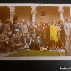 Fotografía antigua: ALCALA DE HENARES MADRID PATIO DE LA UNIVERSIDAD FOTOGRAFIA. Lote 222506792