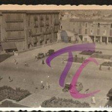 Fotografía antigua: FOTOGRAFIA PLAZA MAYOR PALMA DE MALLORCA 1944 B/N 10X7CM. Lote 222724870