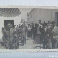 Fotografía antigua: SEMANA SANTA DE SEVILLA : FOTO DE PROCESION , CRUZ DE MAYO ?. DE BIEDMA, SEVILLA. Lote 222858210