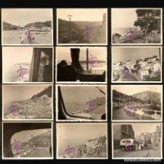 Fotografía antigua: LOTE 14 ANTIGUA FOTOGRAFIA CASTELLET I LA GORNAL EMBALSE PANTANO DE FOIX 1948 B/N 10X7CM VER TODAS. Lote 222863438