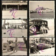 Fotografia antica: LOTE 23 FOTOGRAFIAS 1959 BARCO MALLORCA Y PAISAJES B/N 10X7CM VER TODAS EN FOTOGRAFIAS. Lote 251609150